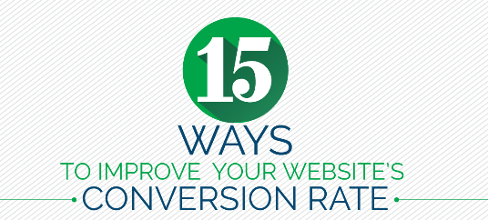 15 Ways to Improve Your Website's Conversion Rate