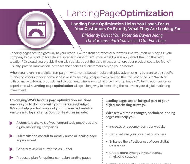 Landingpage Optimization