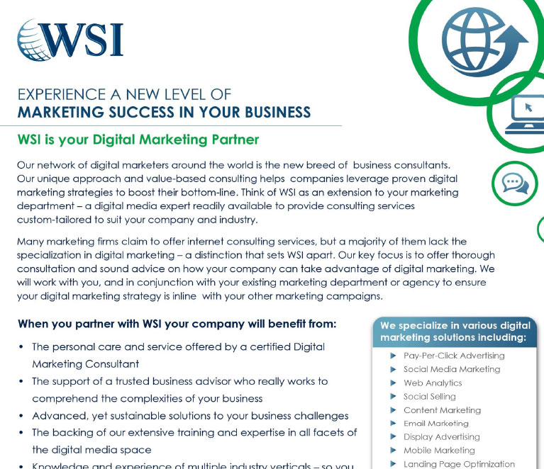 Marketing Success In Your Business